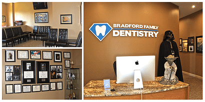Bradford Family Dentistry Office Reception