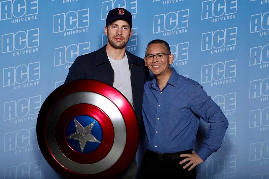 Captain America's Chris Evans and Dr. Jesse Chai