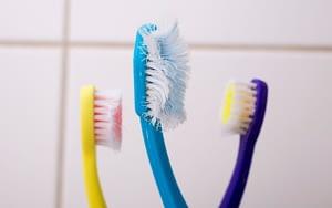old-toothbrush-with-flat-bristles-valentine-bad-breath-Bradford-Family-Dentistry