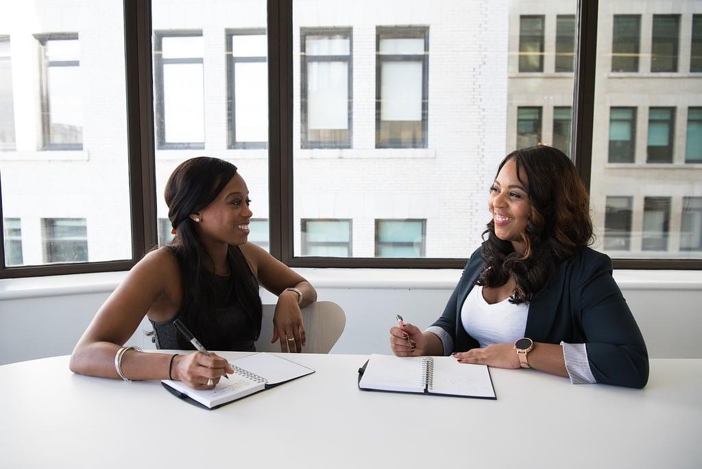 Job interview prospects meeting
